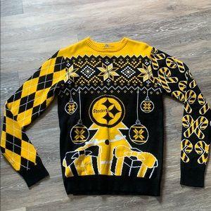 NFL team apparel Steelers sweater